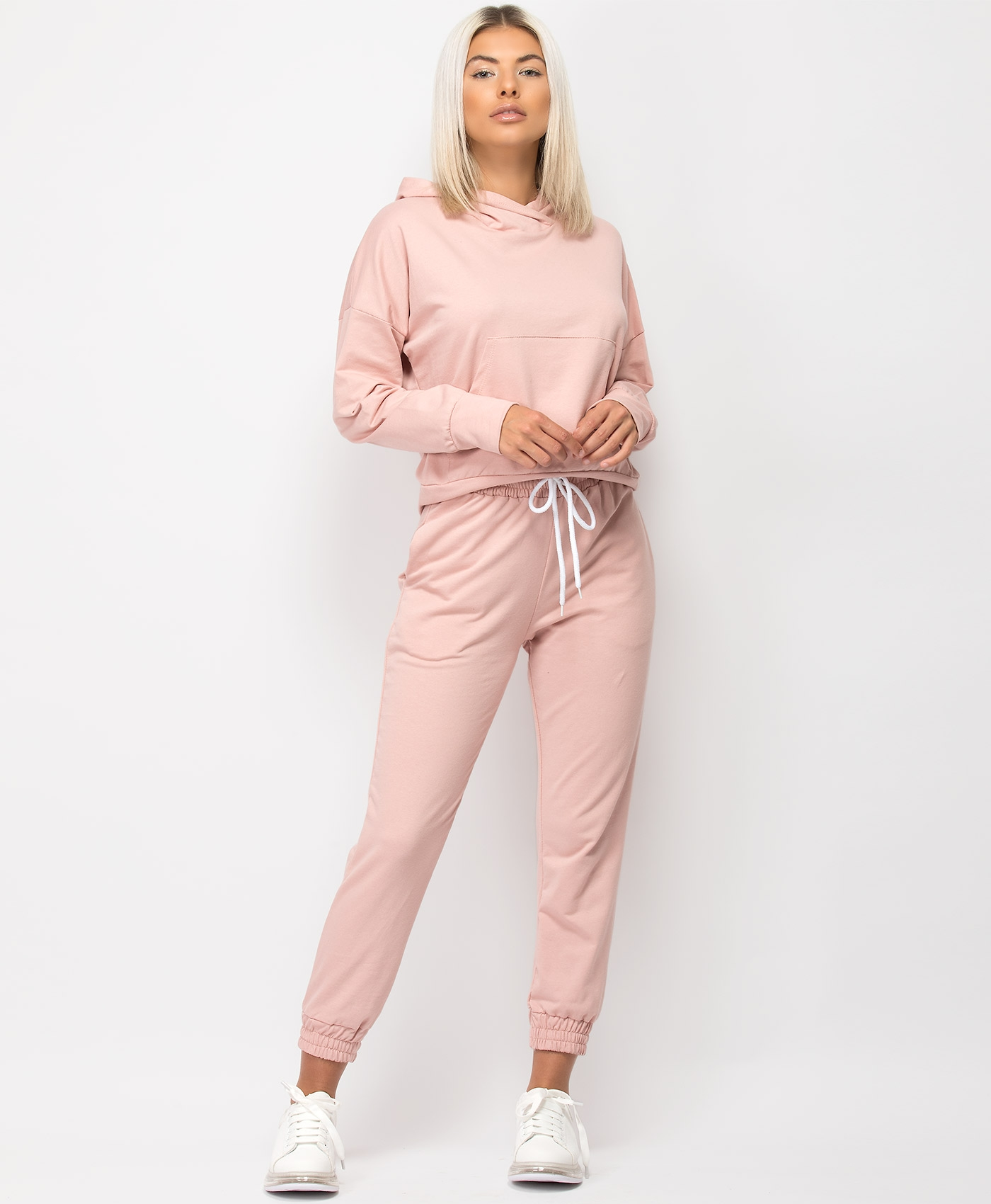 Pink-Crossover-Hoody-&-Joggers-Tracksuit-Loungewear-Set-1
