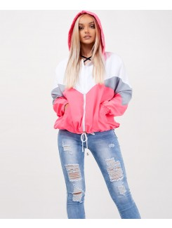 Neon-Pink-Colour-Block-Oversized-Hooded-Festival-Jacket-2
