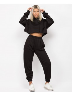 Black-Oversized-Cropped-Hoody-&-Joggers-Loungewear-Set-1
