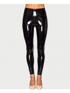 Black-High-Shine-Vinyl-Pu-Pvc-High-Waist-Leggings-1