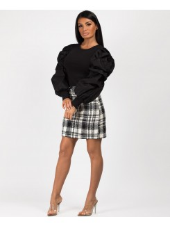 Black-Ribbed-Puff-Sleeve-Top-2