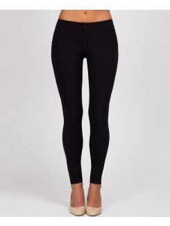 Black-Front-Zip-High-Stretch-Super-Skinny-School-Trouser-1