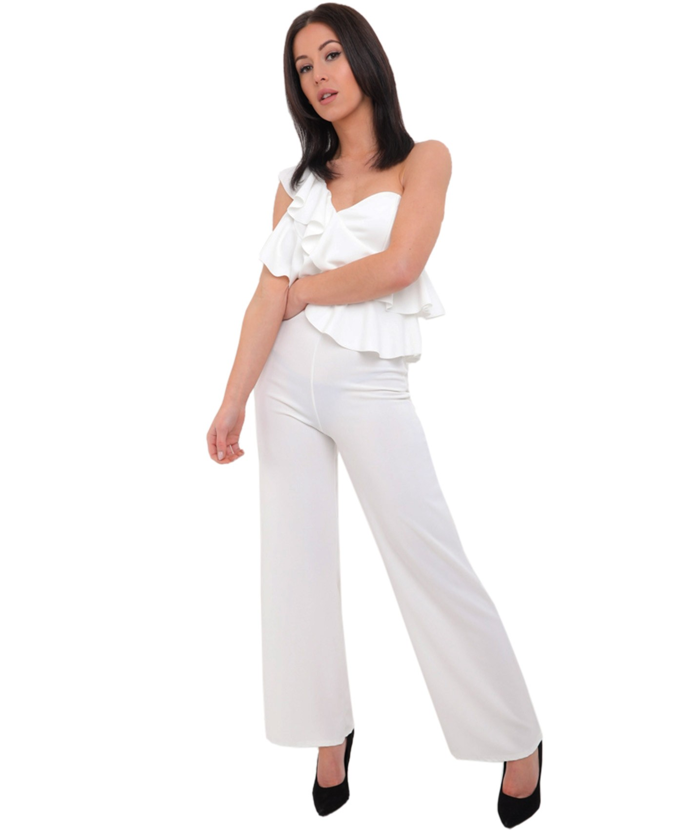 White-One-Shoulder-Frill-Jumpsuit-2