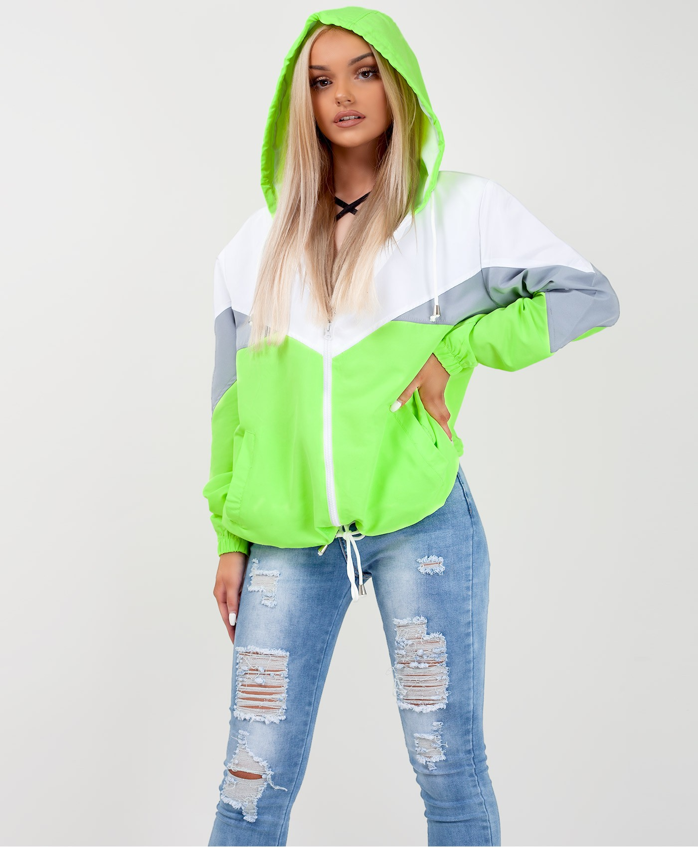 Neon-Green-Colour-Block-Oversized-Hooded-Festival-Jacket-2