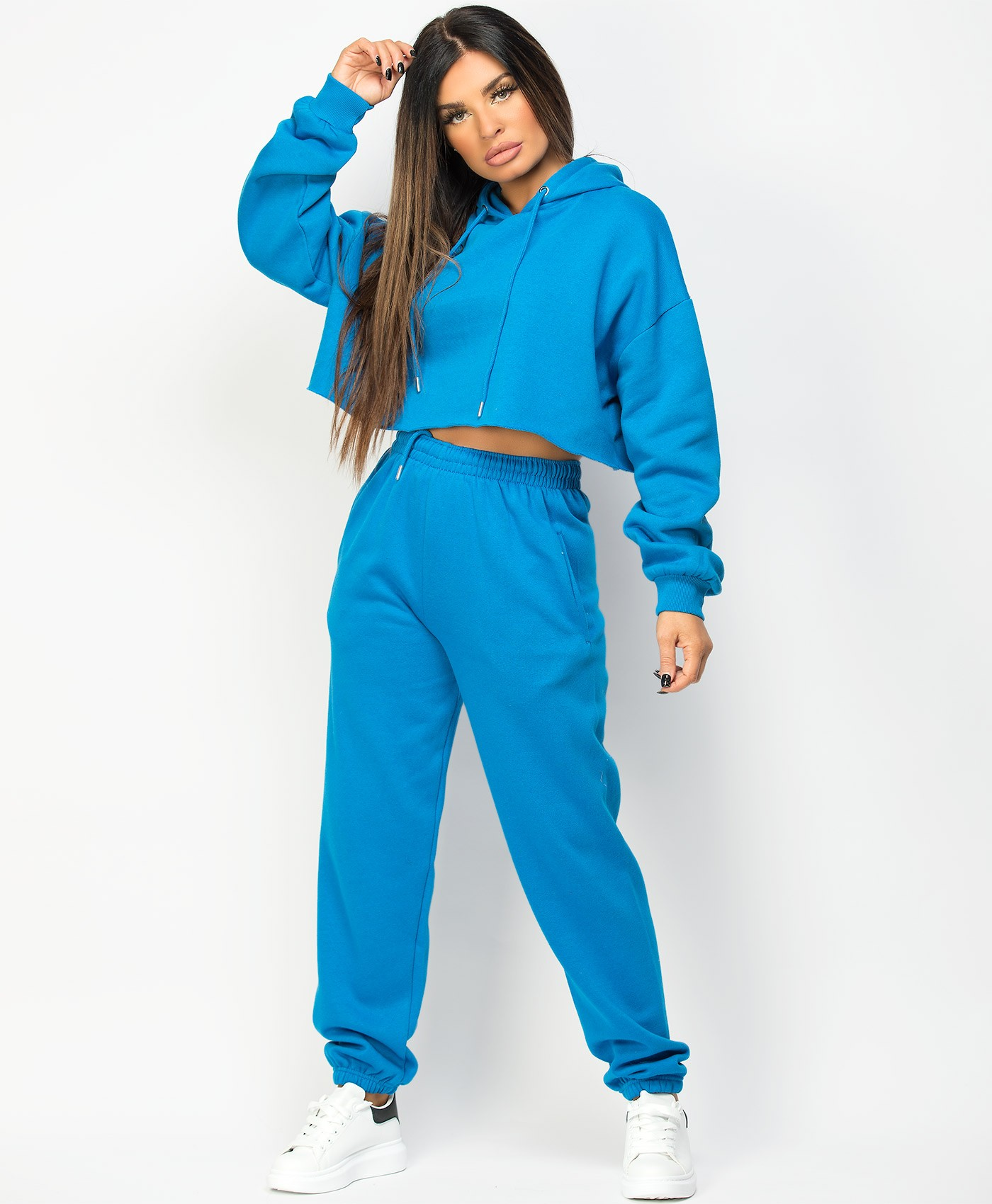 Royal-Blue-Oversized-Cropped-Hoody-&-Joggers-Loungewear-Set-1