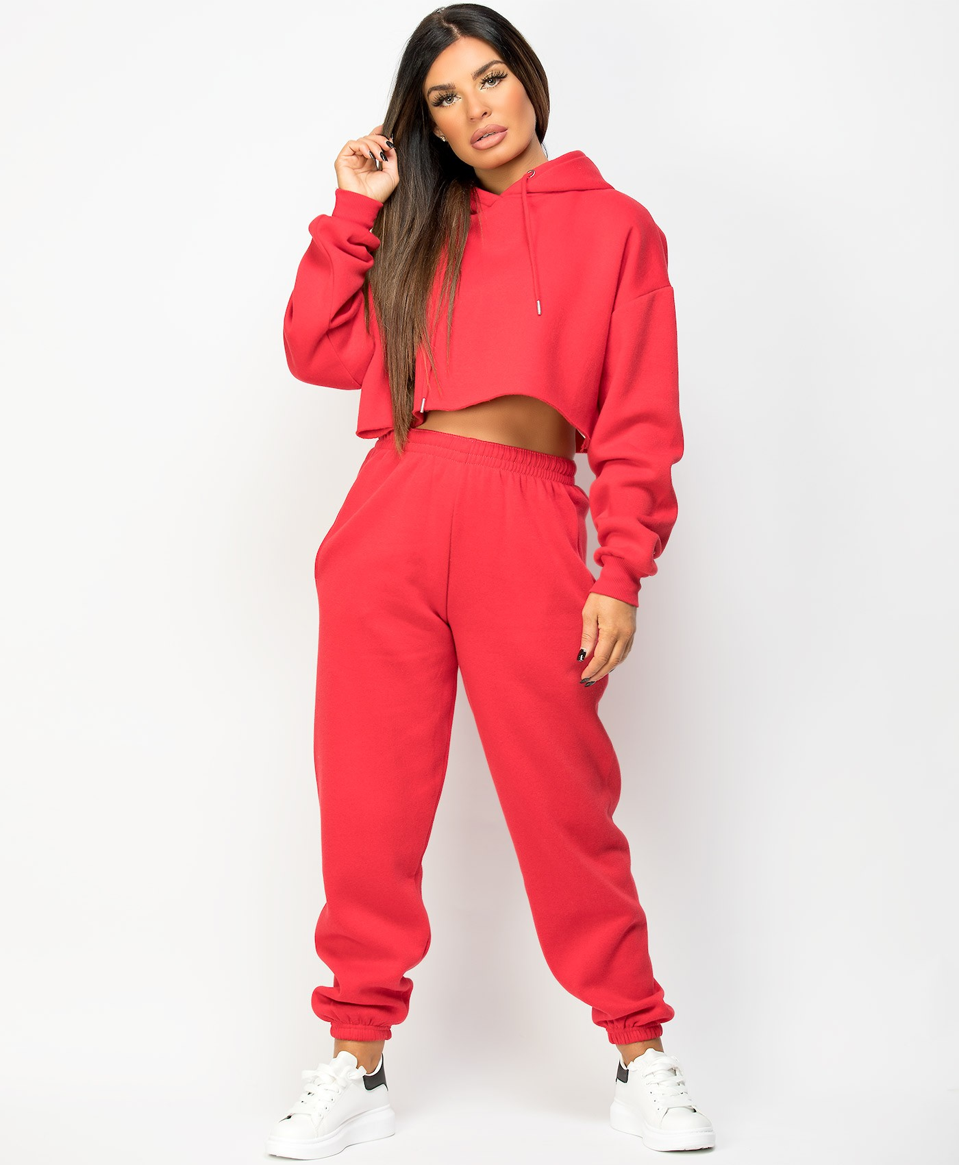 Red-Oversized-Cropped-Hoody-&-Joggers-Loungewear-Set-1