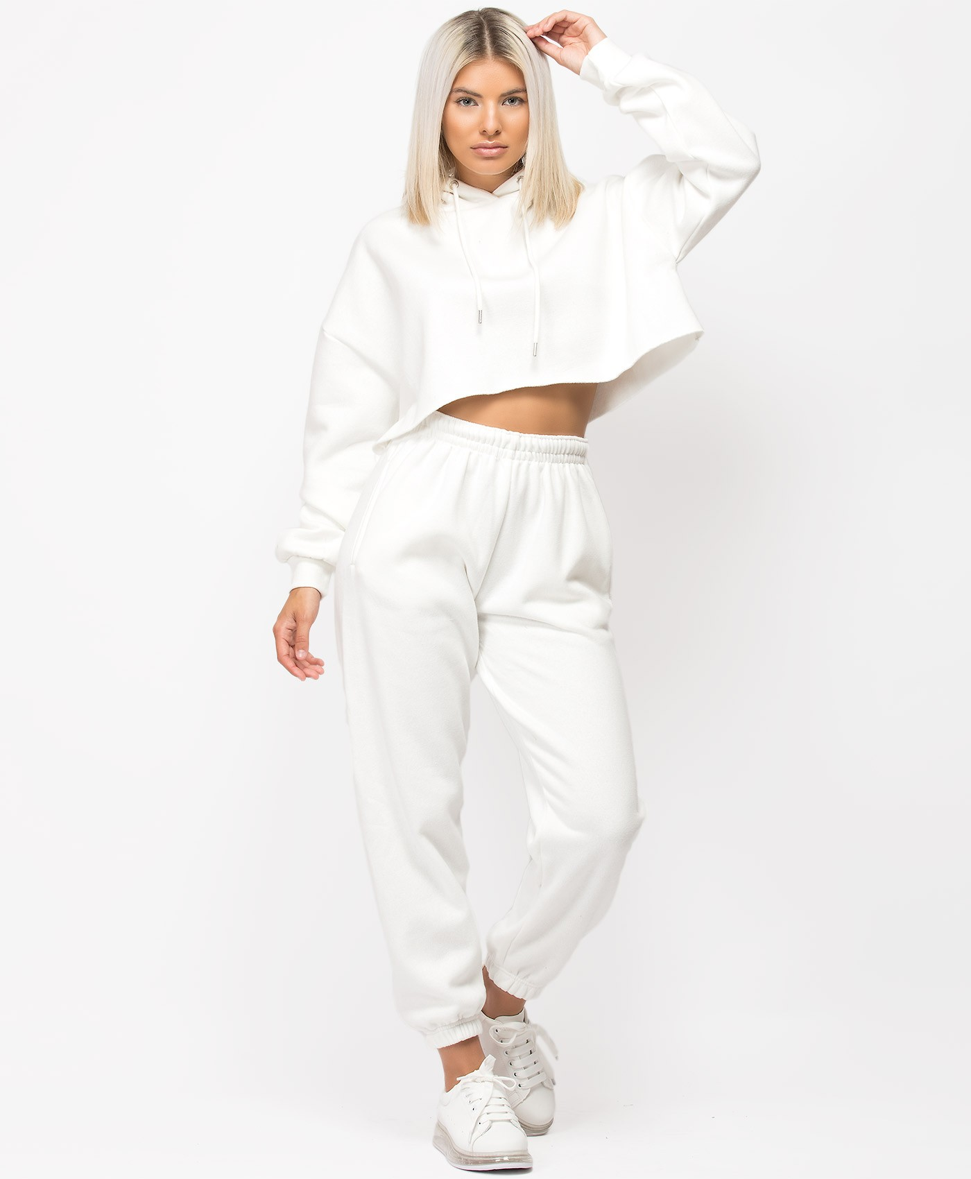 White-Oversized-Cropped-Hoody-&-Joggers-Loungewear-Set-1