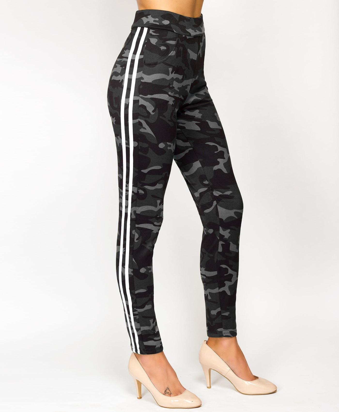 Grey-White-Twin-Stripe-Camouflage-Leggings-3