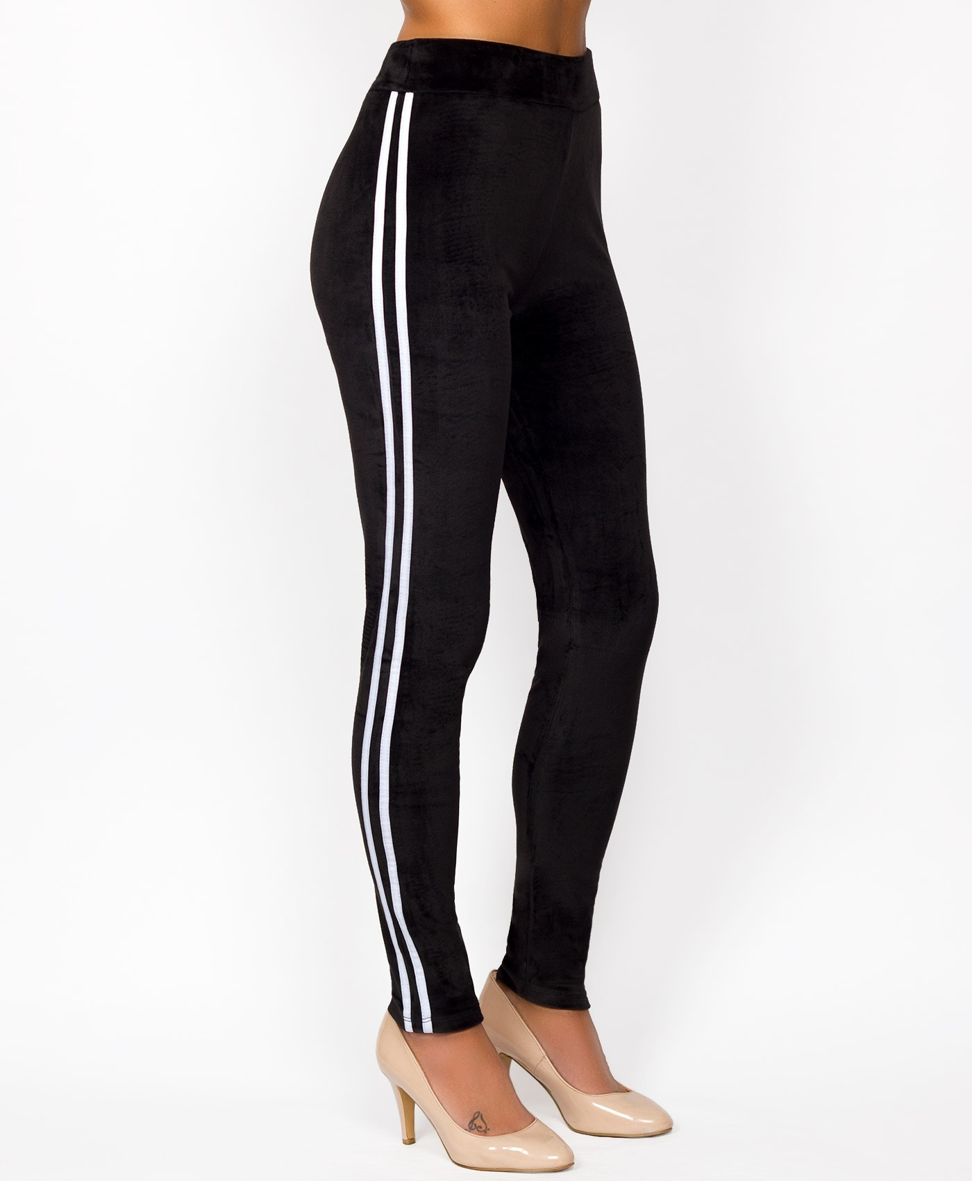 Black-Velvet-Side-Stripe-Leggings-2