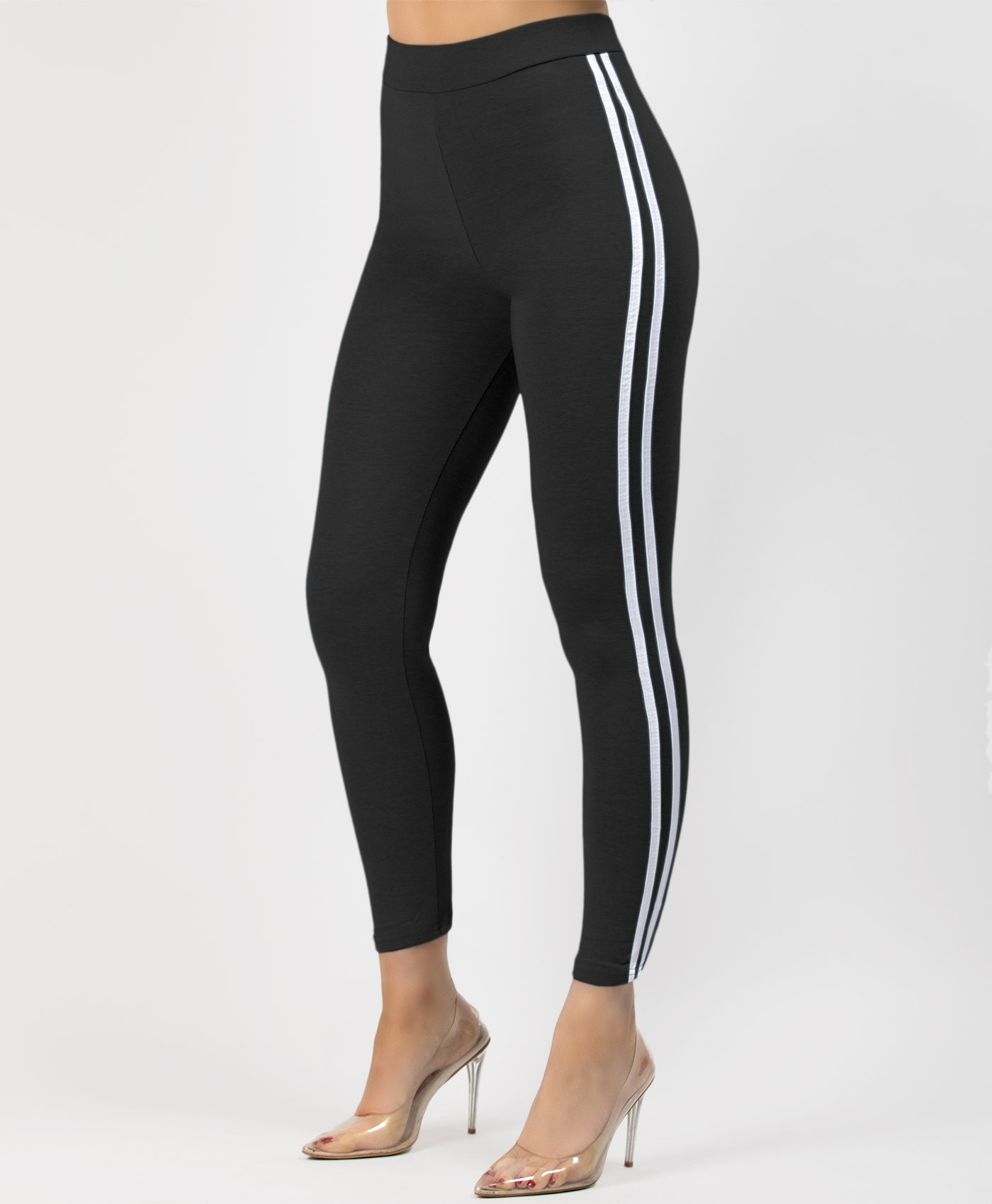 Black-Side-Stripe-Stretch-Leggings-2