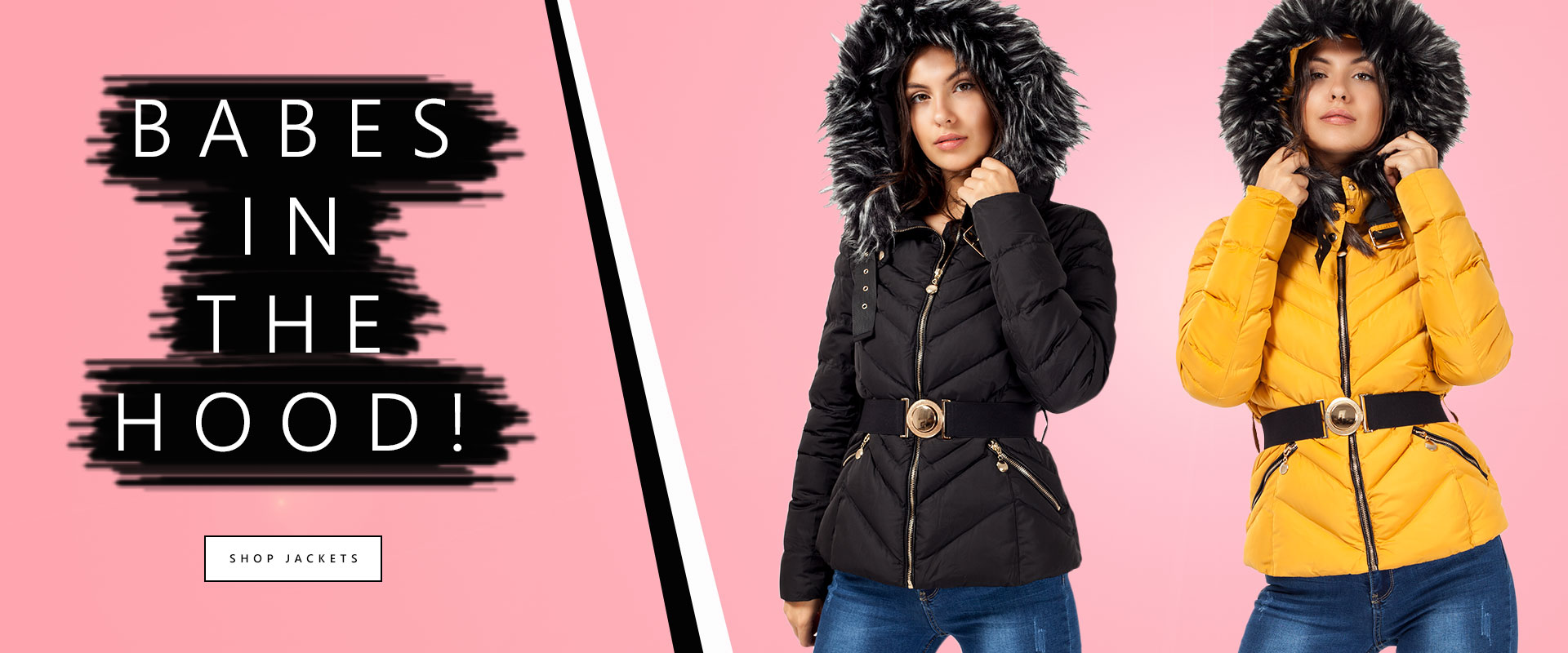 Shop Faux Fur Hooded Jackets | LexiFashion