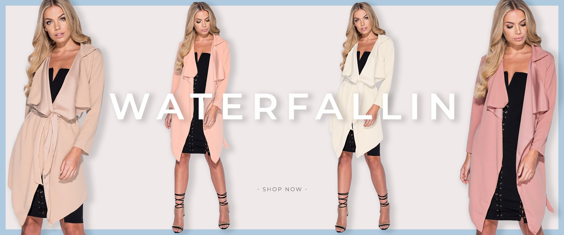 Shop Waterfall Duster Jackets | LexiFashion